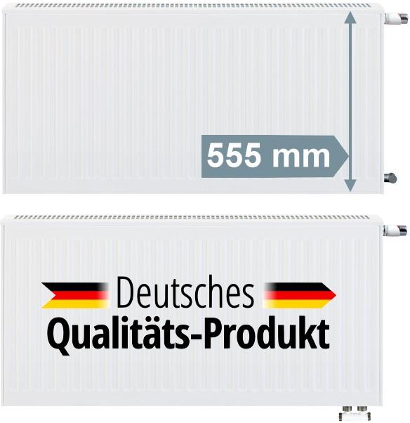 BL 1600 mm 500 mm Viessmann Austauschheizk/örper Typ 21 H/öhe 555 mm Nabenabstand