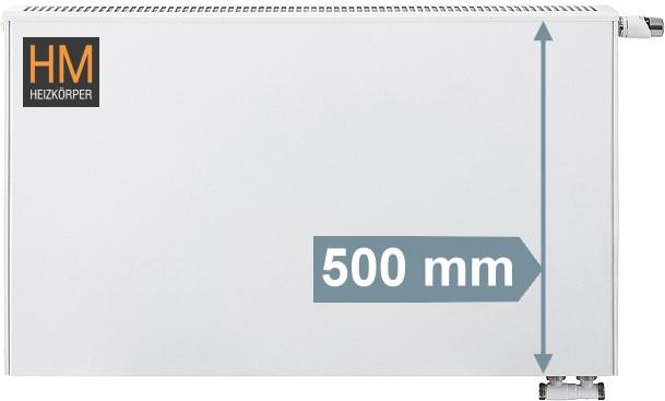 Viessmann Planheizkorper Universal Typ 21 Bh 500mm Loebbeshop
